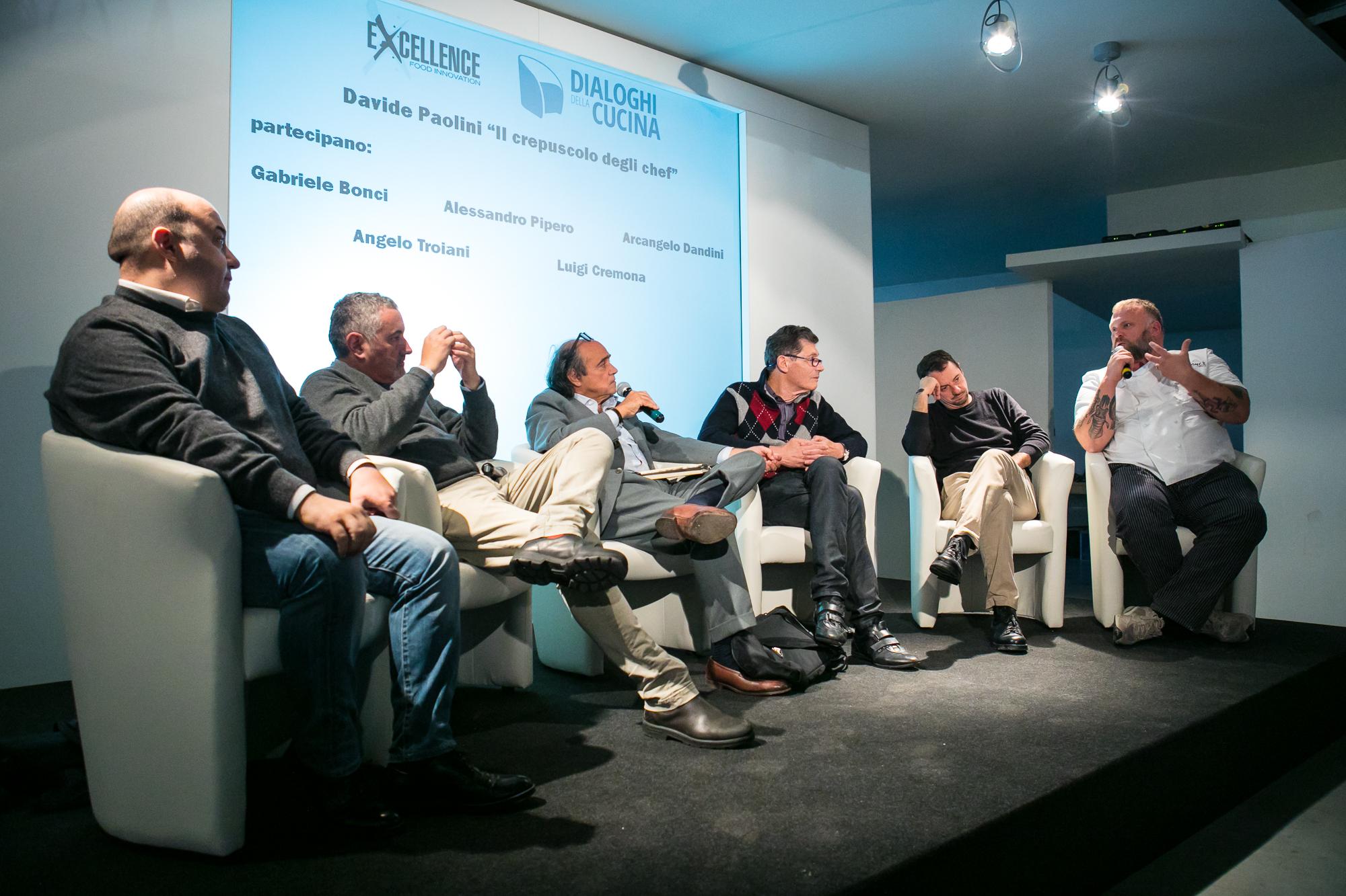 Alessandro Pipero, Arcangelo Dandini, Davide Paolini, Luigi Cremona, Angelo Troiani e Gabriele Bonci